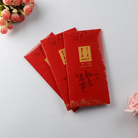 优德国际会员_广告红包印刷定做专版logo定制烫金特种纸利是封订做